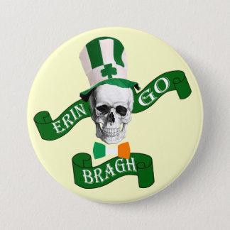 Erin go bragh St Patrick's day Pinback Button