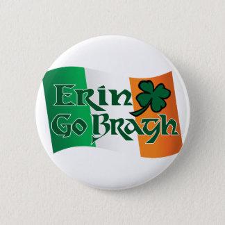 Erin Go Bragh v3 Pinback Button