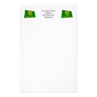 Erin Go Bragh Waving Flag Stationery