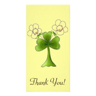 Erin Go Brahg Flowers Card