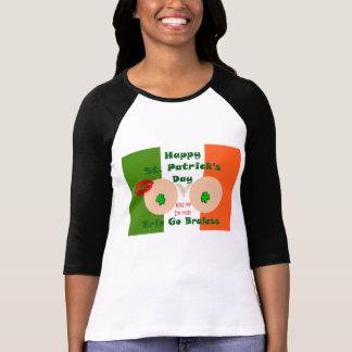 Erin go braless Happy St. Patrick's Day T-Shirt