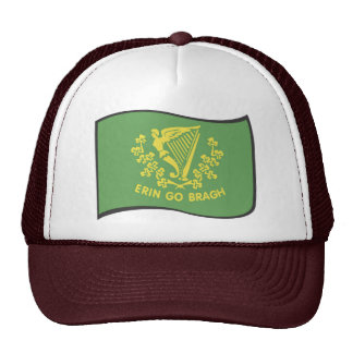 Erin Go Braugh Flag Trucker Hats