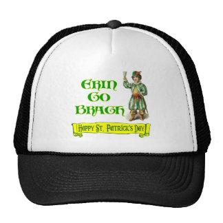 Erin Go Braugh Happy St. Patrick's Day Saying Trucker Hats