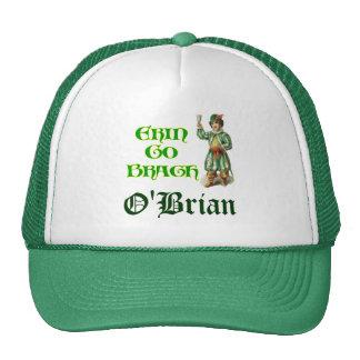 Erin Go Braugh Personalizeable Irish Saying Mesh Hat