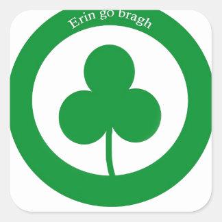 Erin go braugh stickers