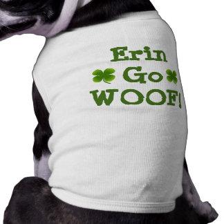 ERIN GO WOOF DOGGIE ST. PATTY'S COAT SHIRT