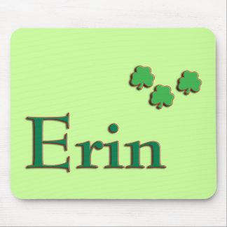 Erin Irish Name Mouse Pad