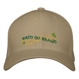 Erin Music Embroidered Baseball Hat