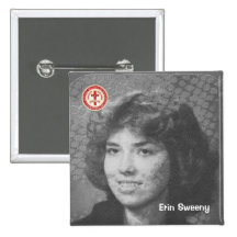 Erin Sweeny Pinback Buttons