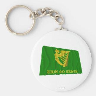 Erin va bandera que agita de Bragh Llavero