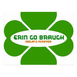 Erin va Braugh Irlanda para siempre Postales