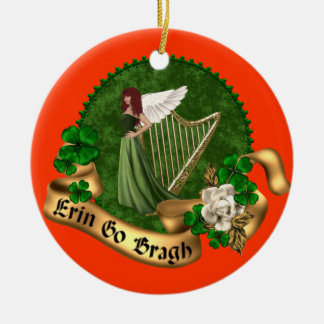 Erin va irlandés de Bragh Adornos De Navidad