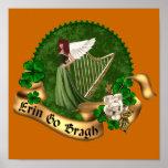 Erin va irlandés de Bragh Impresiones