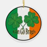 Erin va las camisetas del día de Bragh St Patrick, Adorno