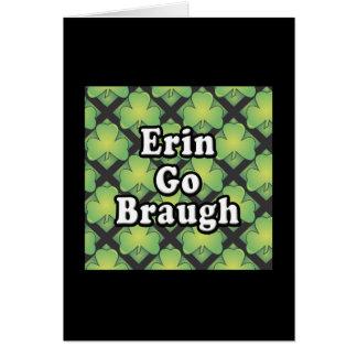 Erin va Swag y los regalos de Braugh Felicitaciones