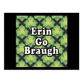 Erin va Swag y los regalos de Braugh Tarjetas Postales