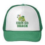 Erin va trébol sonriente de Bragh Gorro De Camionero