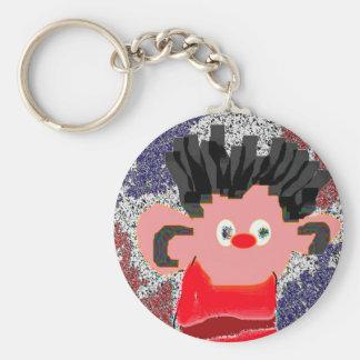 Erine SQ 2 Basic Round Button Keychain