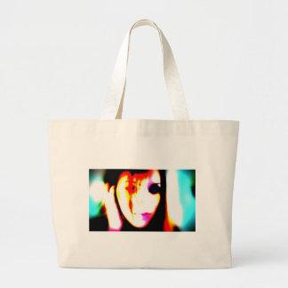 ErinElise vs Marilyn Manson Large Tote Bag