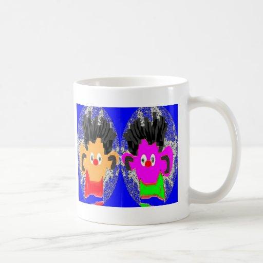 Erines gemelo - galería autorizada Charles del tri Tazas De Café