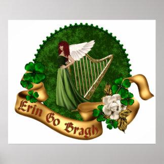 Erins Harp POSTER
