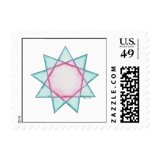 Erin's Star Postage Stamps