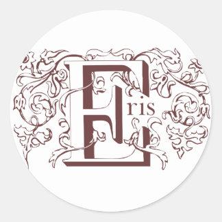 Eris Brown sticker