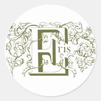 Eris Green sticker