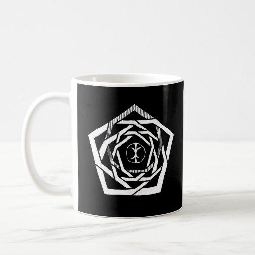Erisian Mandala Reverse Classic White Coffee Mug