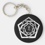Erisian Mandala Reverse Key Chains