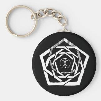 Erisian Mandala Reverse Keychain