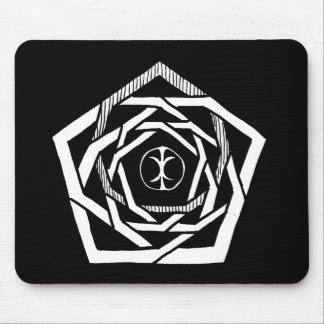 Erisian Mandala Reverse Mouse Pad