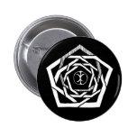 Erisian Mandala Reverse Pinback Button