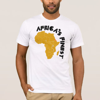 Eritrea, Africa's Finest map of Africa design T-Shirt