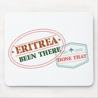 Eritrea Been There Done That Mouse Pad