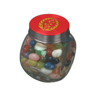 Eritrea Jelly Belly Candy Jars