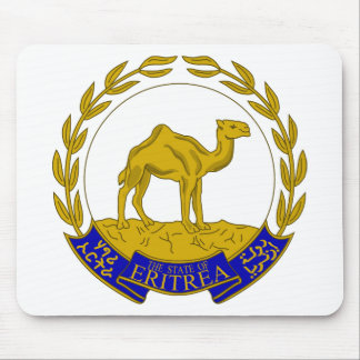 Eritrea Coat of arms ER Mouse Pad