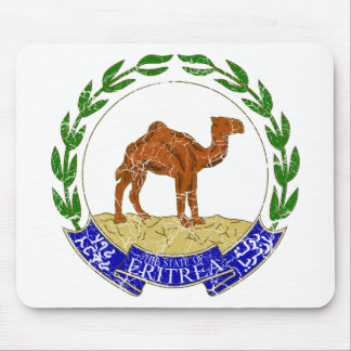 Eritrea Coat Of Arms Mouse Pad
