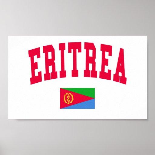 Eritrea College Style Posters