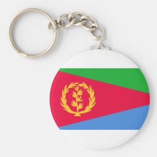 Eritrea, El Salvador Keychain