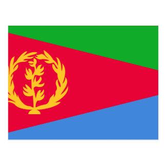 Eritrea, El Salvador Postcard