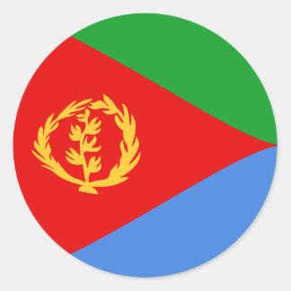 Eritrea Fisheye Flag Sticker