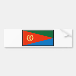 Eritrea Flag Bumper Sticker
