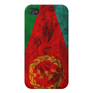Eritrea Flag Cover For iPhone 4