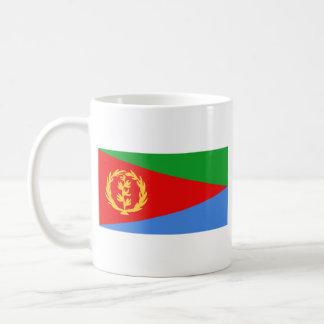 Eritrea Flag ~ Map Mug