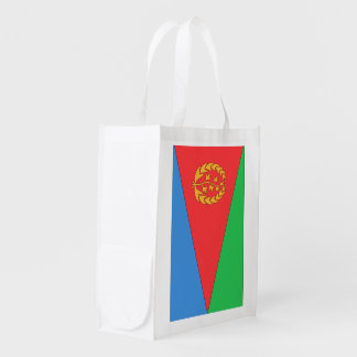 Eritrea Flag Reusable Grocery Bag