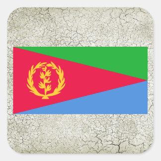 Eritrea Flag Square Sticker