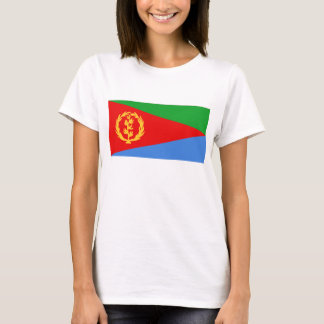 Eritrea Flag x Map T-Shirt