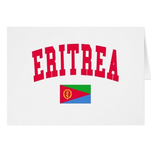 ERITREA GREETING CARD