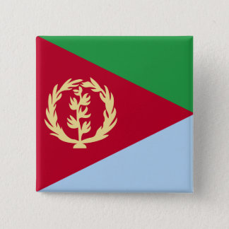 Eritrea High quality Flag Button